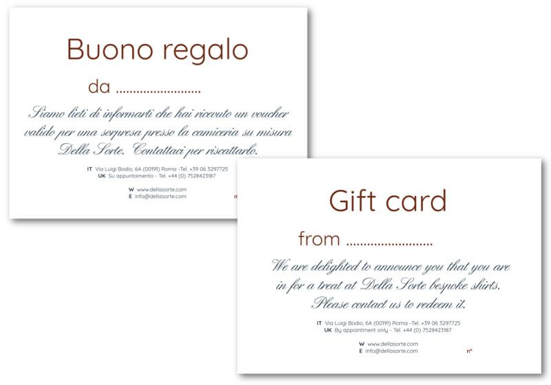 Della Sorte Gift Card